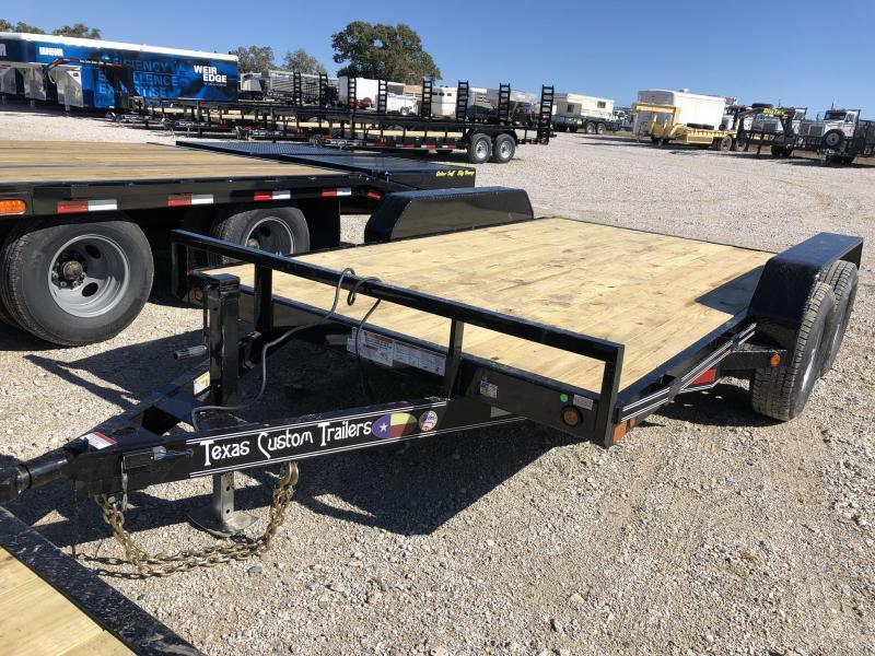 "2020 East Texas 83""X12' 12K Car Hauler Equipment Trailer"