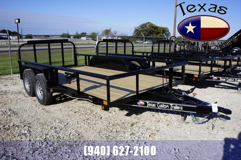 "2021 East Texas 77""x14' 7K Utility Trailer"