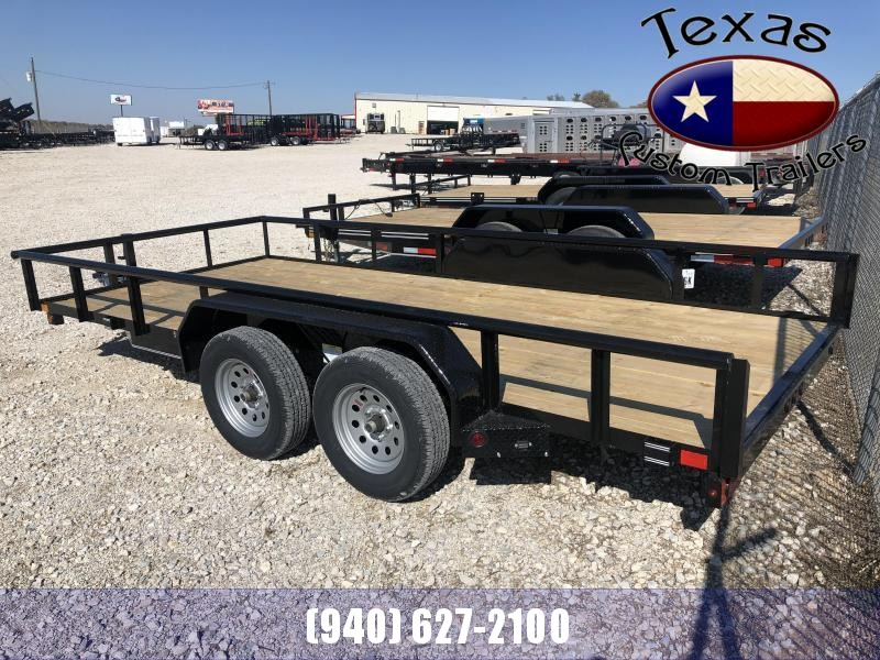 "2021 East Texas 83""X16' 7K Utility Trailer"
