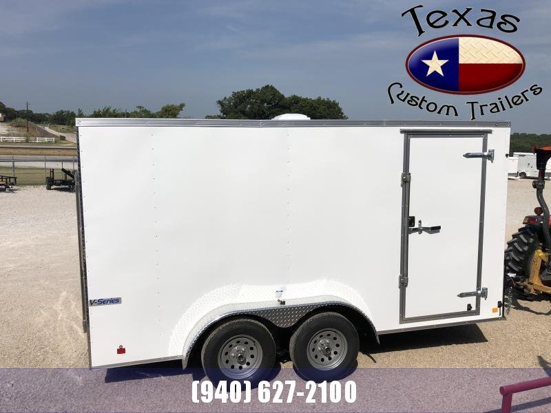 2021 Continental Cargo 7'x14' E/V-Series Enclosed Cargo Trailer
