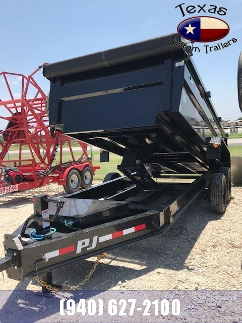 2022 PJ Trailers BP 16' Low Pro Dump Trailer
