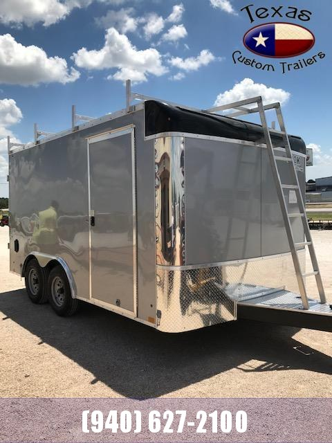 2021 Look Trailers 8.5'X14' LXT Tool Barn Enclosed Cargo Trailer