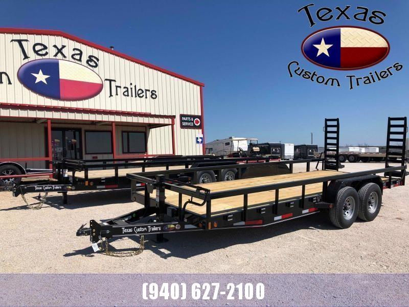 "2021 East Texas 83""X20' Utility/Equipment 14K Trailer"
