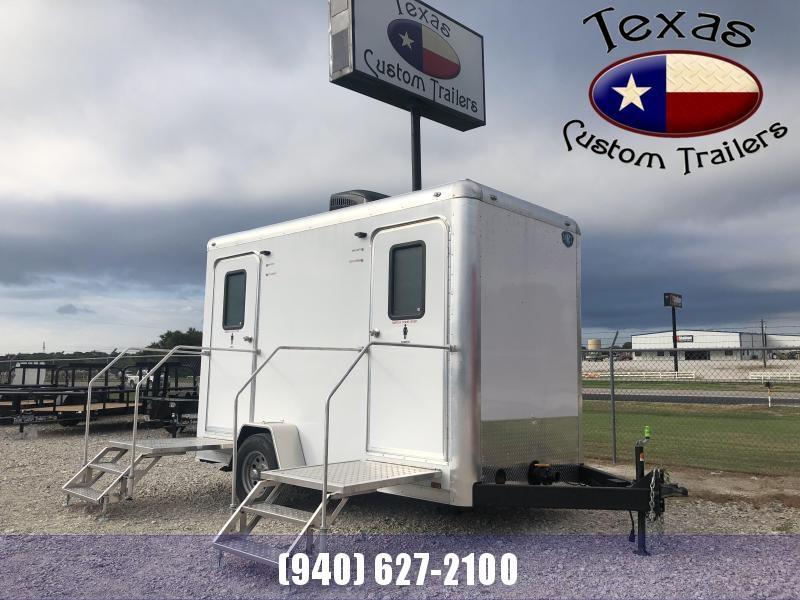 2020 Cargo Mate 6'x12' Mobile Restroom Trailer