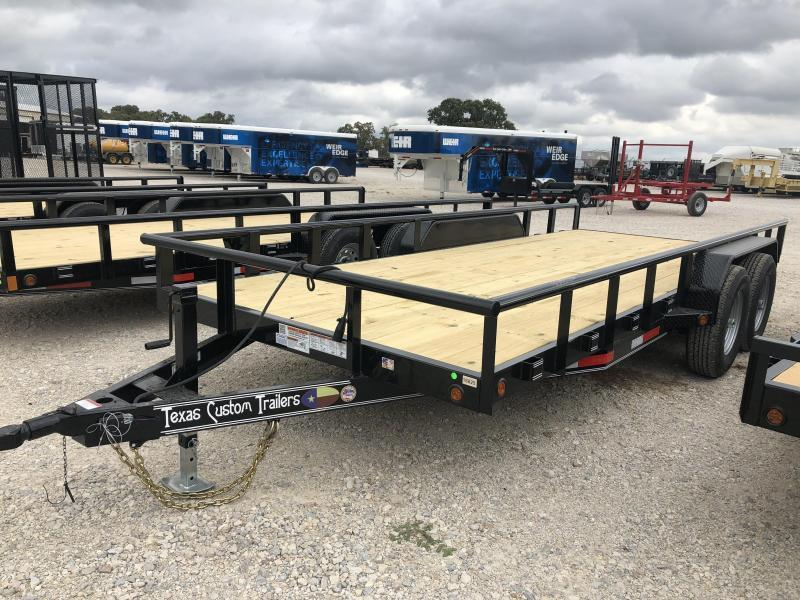"2020 East Texas 83"" X 18'  12K Utility Trailer"