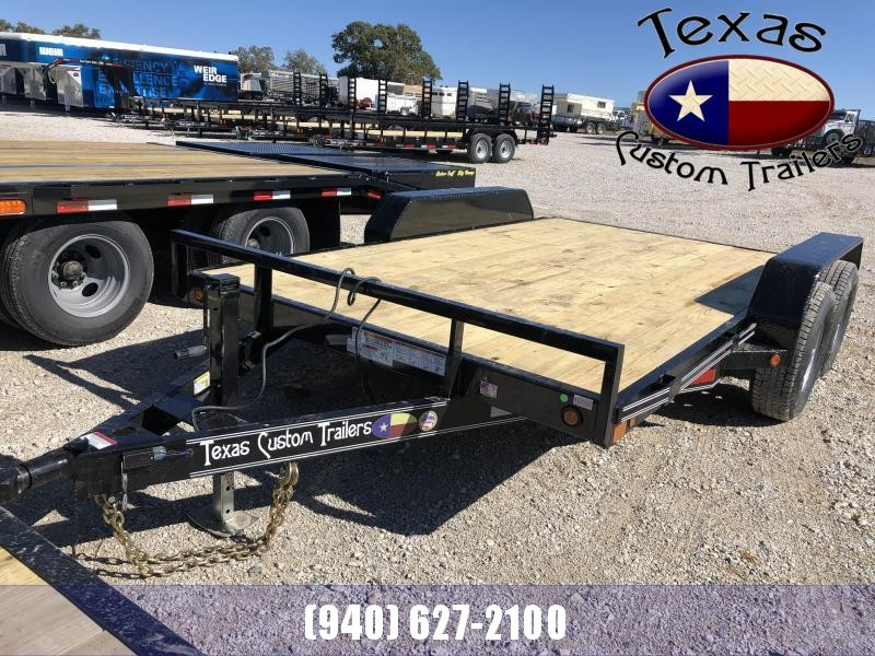 "2021 East Texas 83""X12' 12K Car Hauler Equipment Trailer"