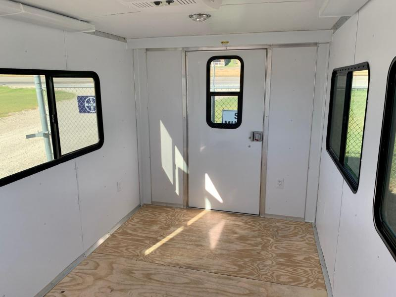 2021 Cargo Mate 7'X12' Office Trailer