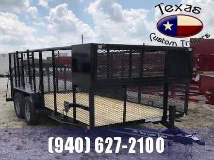 "2021 East Texas 83"" X 16' Landscape Utility Trailer"