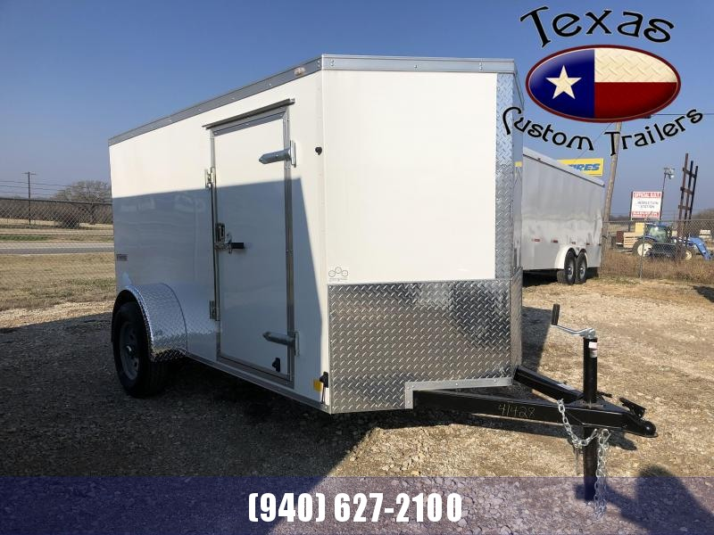 2021 Continental Cargo 5'x10' E/V-Series Enclosed Cargo Trailer