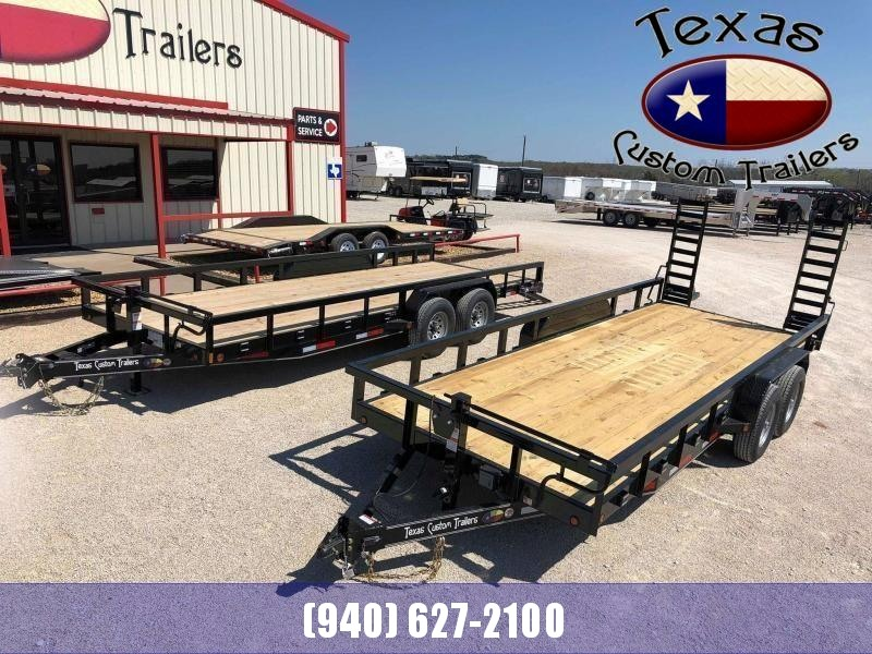 2021 East Texas 83X20 14K Utility/Equipment Trailer