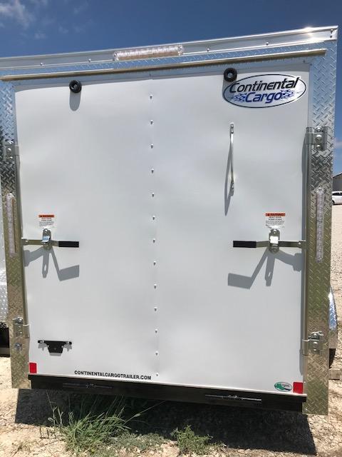 2021 Continental Cargo 6'x12' V-Series Enclosed Cargo Trailer