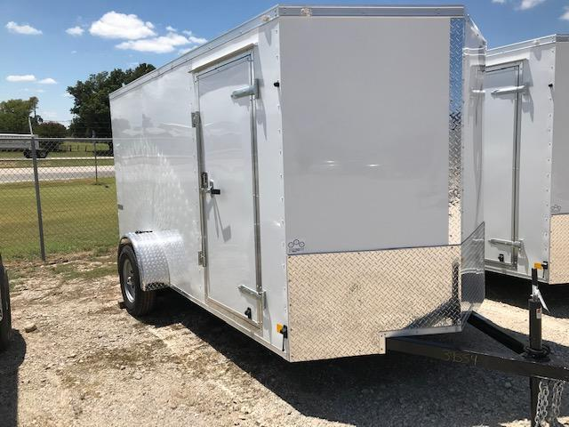 2021 Continental Cargo 6'x12' V-Series Enclosed Cargo Trailer