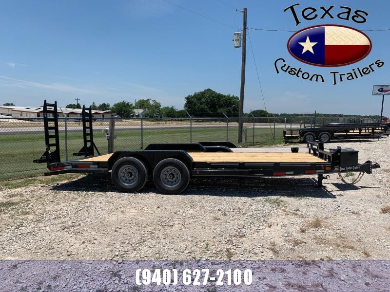 2021 East Texas 83X20 14K Equipment Trailer