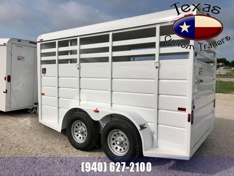 2021 W-W 14'X6' WRANGLER STOCK/ 2 HORSE COMBO TRAILER