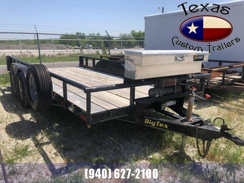 2002 Big Tex Trailers 16' Utility Trailer ***RENTAL UNIT***