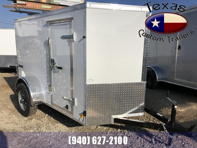 2021 Continental Cargo 5'x8' E/V-Series Enclosed Cargo Trailer