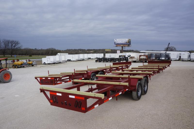 2020 East Texas 40' Bumper Pull Pipe Hauling Trailer