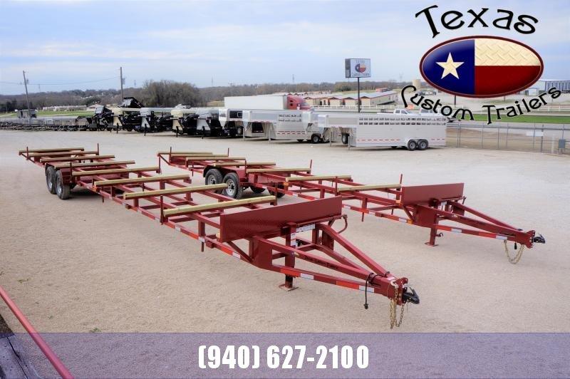 2021 East Texas 40' Bumper Pull Pipe Hauling Trailer