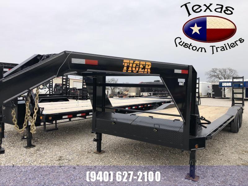 "2021 Tiger 102"" X 24' Gooseneck Lowboy Trailer"
