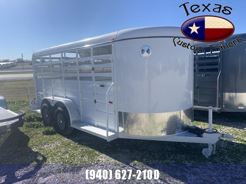 2021 W-W Trailer 16'X6' All Around Livestock Trailer