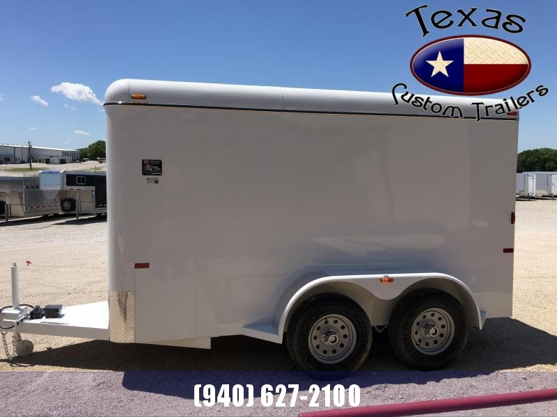 2021 W-W Trailer 6X12 Enclosed Cargo Trailer