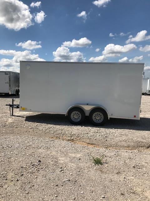 2021 Continental Cargo 7'X16' COMMERCIAL ALL STEEL Enclosed Cargo Trailer