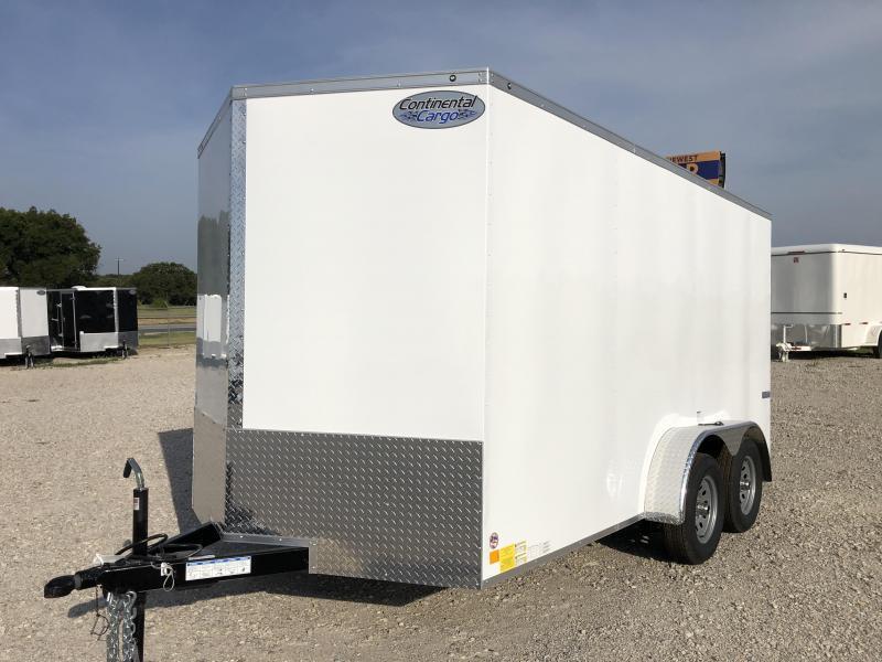 2020 Continental Cargo 7'x14' V-Series Enclosed Cargo Trailer