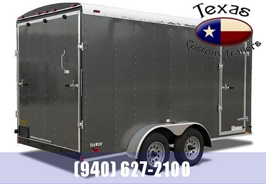 2021 Continental Cargo 7'X14' Tailwind Motorcycle Trailer