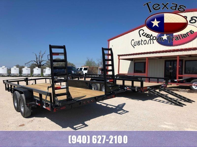 2021 East Texas 83X20 14K Utility/Equipment Trailer