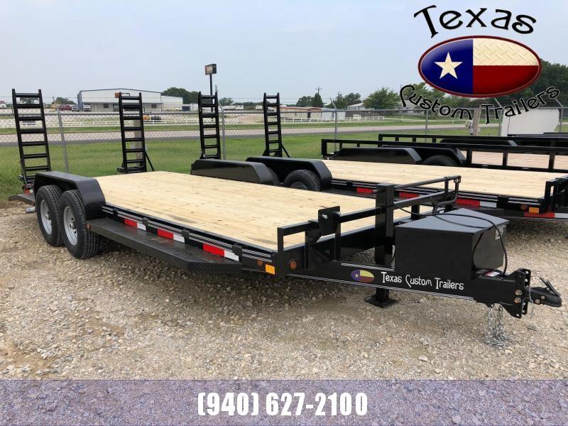 "2021 East Texas 83""x20' 14K Equipment/Car Hauler Trailer"