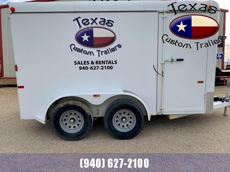 2012 W-W Trailer 12'x6' Enclosed Cargo Trailer ***RENTAL UNIT***