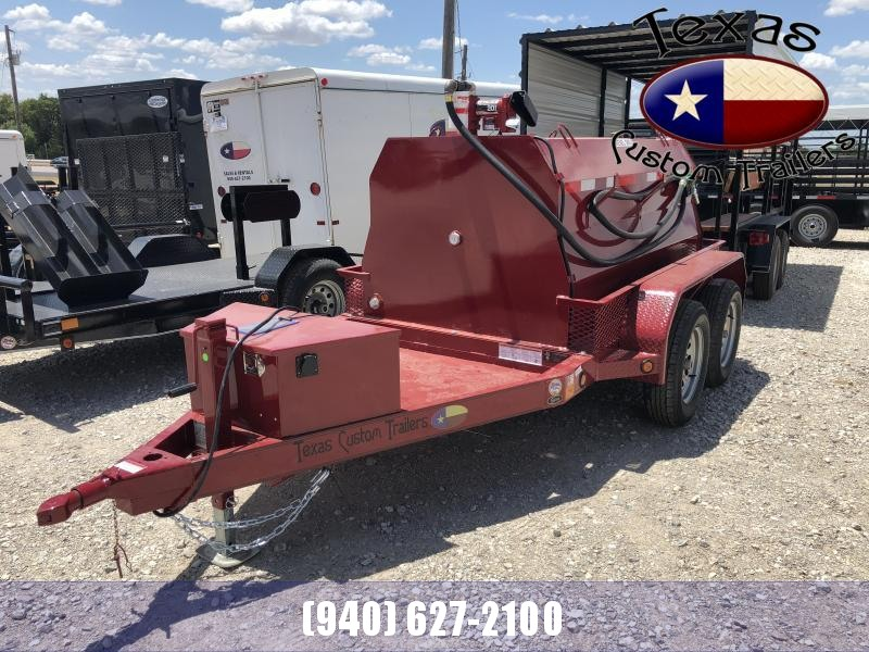 2021 East Texas 5'X8' Fuel Tank Trailer
