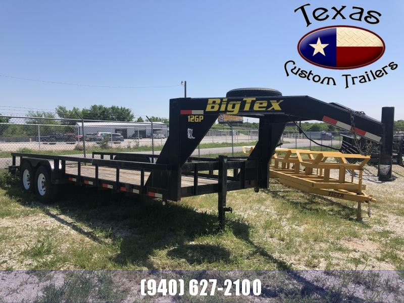 2003 Big Tex Trailers 20' Gooseneck Lowboy Equipment Trailer ***RENTAL UNIT***