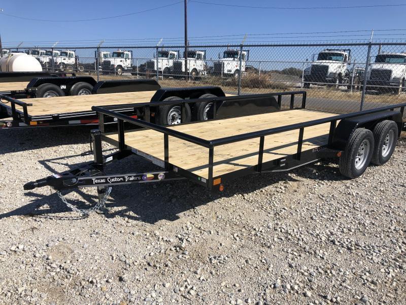 "2020 East Texas 83""X14' 7K Utility Trailer"