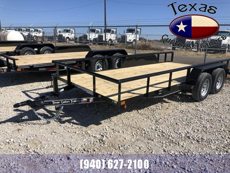 "2020 East Texas 83""X20' 7K Utility Trailer"
