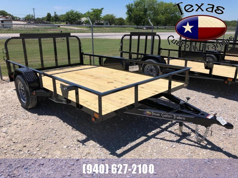 "2021 East Texas 83""X12' Single Axle 3K Utility Trailer"