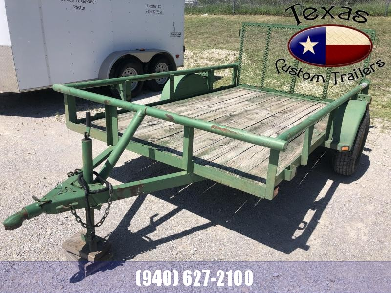 2002 Trailmaster 6'x10' Single Axle Utility Trailer ***RENTAL UNIT***