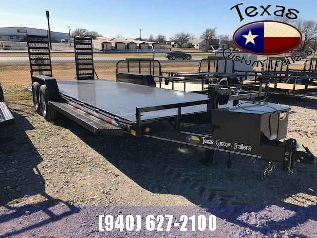 2021 East Texas 83X22 14K Equipment Trailer