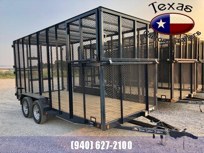 "2021 East Texas 77""X16' 7K Trash Trailer"