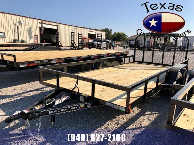 "2022 East Texas 83""X16' 7K Utility Trailer"