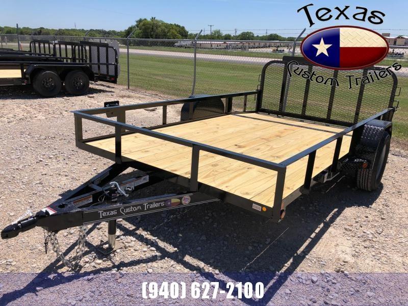 "2022 East Texas 83""X12' Single Axle 3K Utility Trailer"