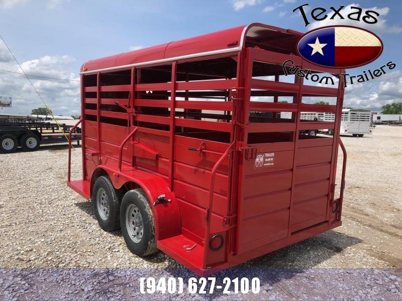 2021 W-W Trailer AA 14X5 Livestock Trailer