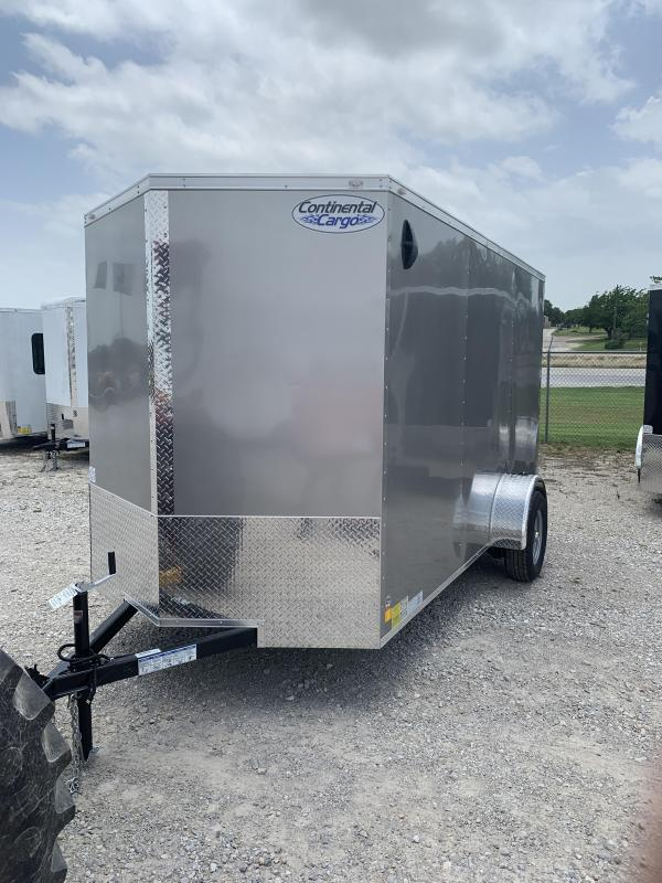 2021 Continental Cargo 6'X12' Enclosed Cargo Trailer