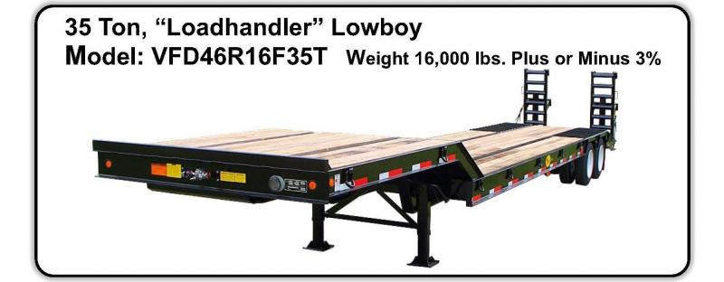 "2020 Viking 35 Ton ""Load Handler"" Lowboy Equipment Trailer"