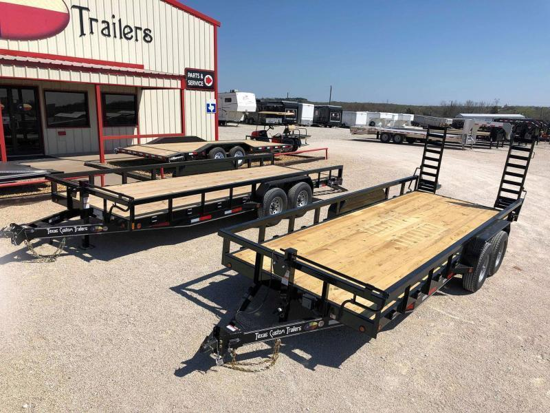 "2020 East Texas 83""X20' 14K Car Hauler/Equipment Trailer"