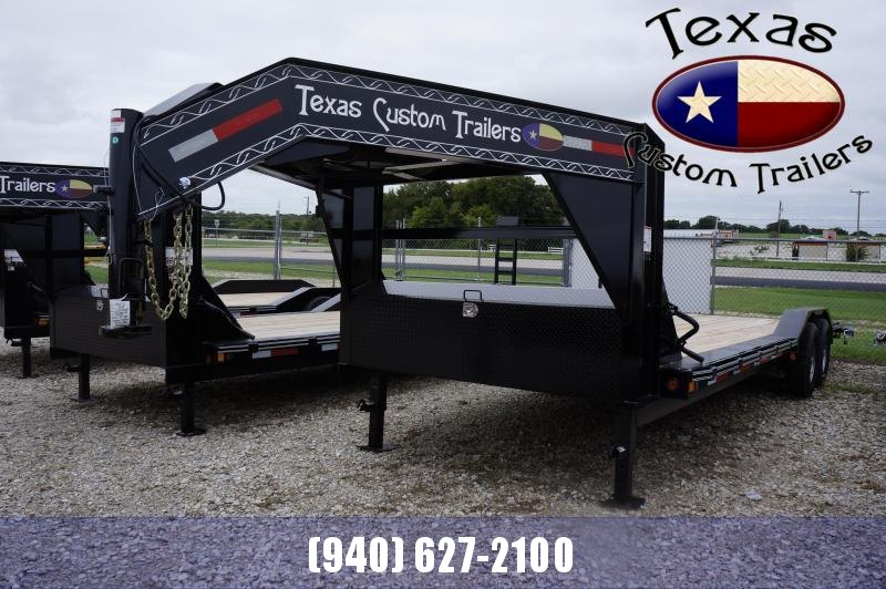 "2021 East Texas 102""X24' 14K GN Lowboy Equipment Trailer"