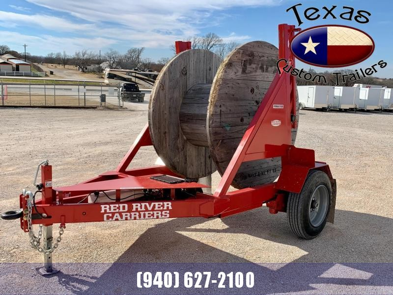 2021 Red River Carrier Telecom Reel Trailer
