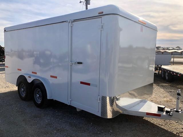 2020 W-W Trailer 16X8 Enclosed Cargo Trailer