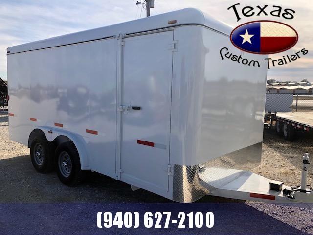 2020 W-W Trailer 16X8 Enclosed Cargo Trailer