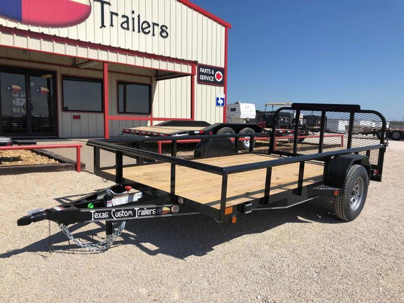 2020 East Texas 77X12 Single Axle Utility Trailer